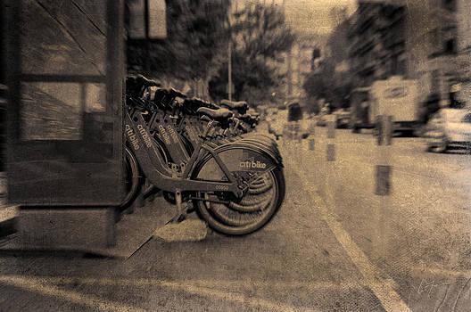Bicycles  by Eric Ferrar