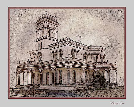 Bidwell Mansion Chico California by David Lee