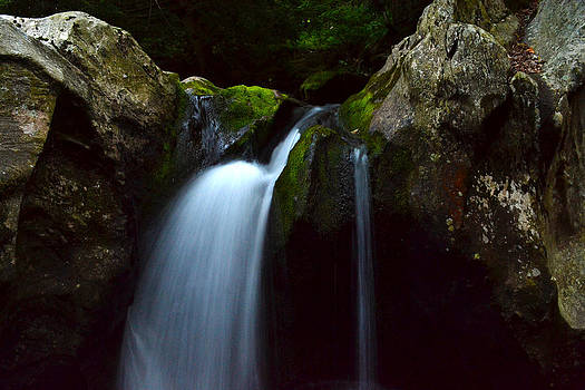 Big and Little Underhill Falls VT by Wendell Ducharme Jr