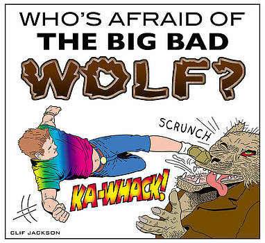 Big Bad Wolf by Clif Jackson