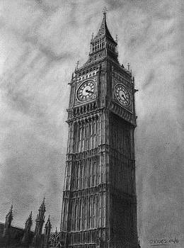 Big Ben London by David Rives