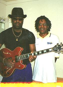 Big Bill Morganfield and Eric E by Otis L Stanley