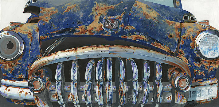 Big Buxom Buick by John Wyckoff