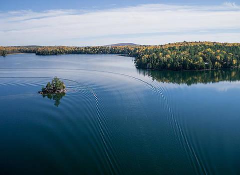 Big Cedar Lake. Quebec by Rob Huntley