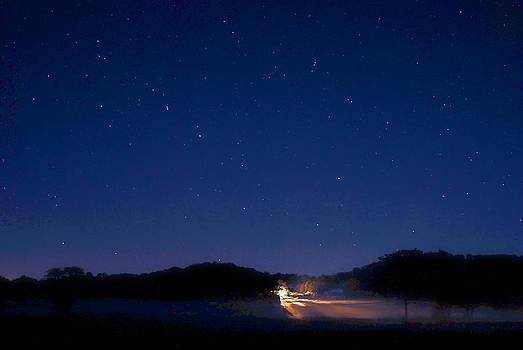 Big Dipper in The Valley by Larry Bodinson