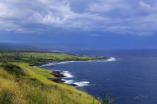 Big Island Storm by Ed Cilley