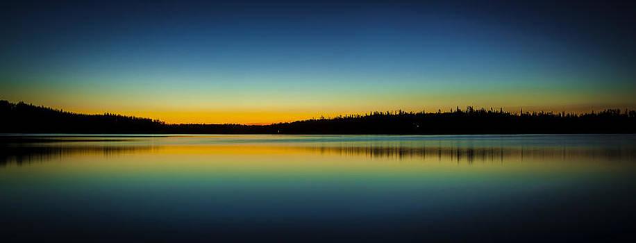 Big Lake Twilight by Kyle Lavey