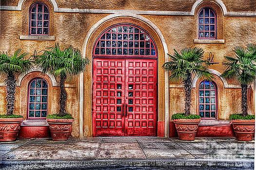 Big Red Doors by Arnie Goldstein