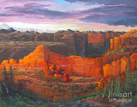 Big Red Rocks by John Wise