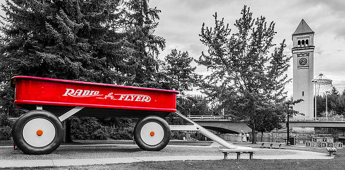 Big Red Wagon by Alex Isom