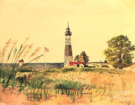 Art By Tolpo Collection - Big Sable Lighthouse 1945