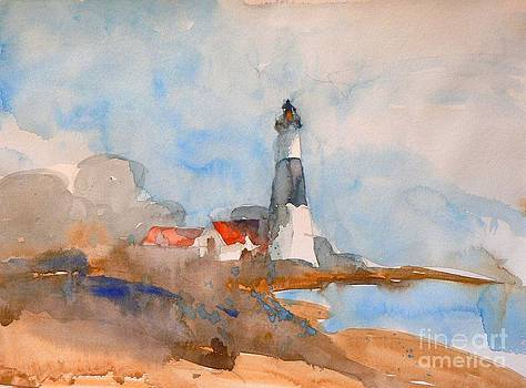 Big Sable Lighthouse by Jennifer Wu