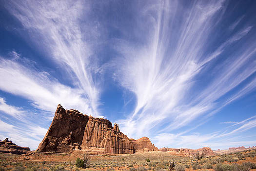 Big Sky Desert by Priit Einbaum
