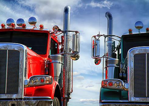 Big Trucks by Bob Orsillo