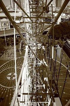 Darling Harbour Big Wheel.  by Debbie Cundy