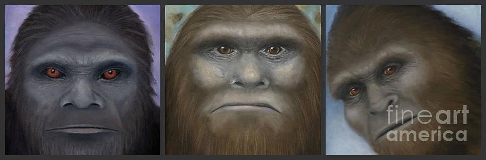 Rebekah Sisk - Bigfoot Collage