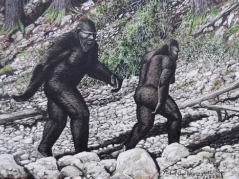 Bigfoot Couple by Michael Wawrzyniec