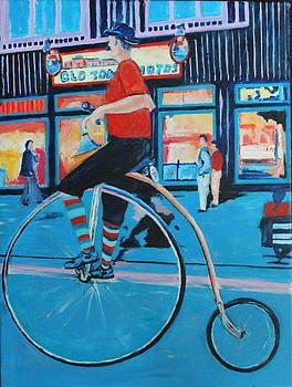 Bike Man by Lee Ann Newsom