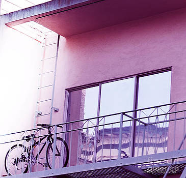 Bike On My Balcony by Artist and Photographer Laura Wrede