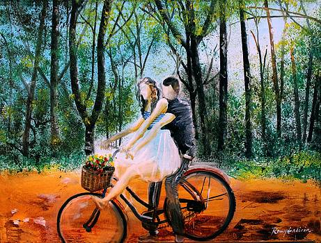 Bike Practice by Romy Galicia