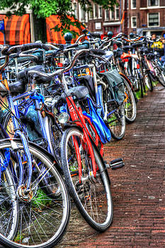 Bikes in Amsterdam by Sophie Vigneault
