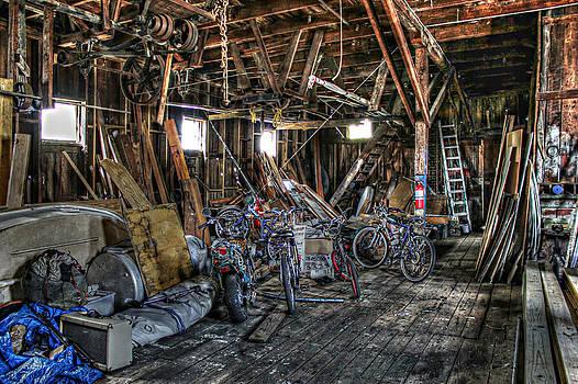 Bikes in the Fish House by Lynn Jordan