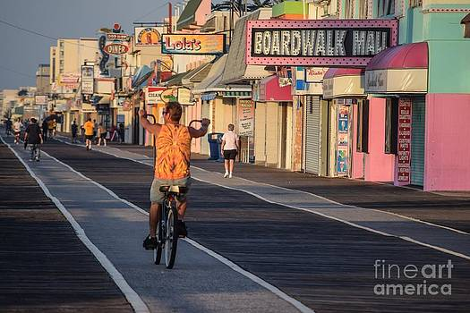 Biking by Photolope Images
