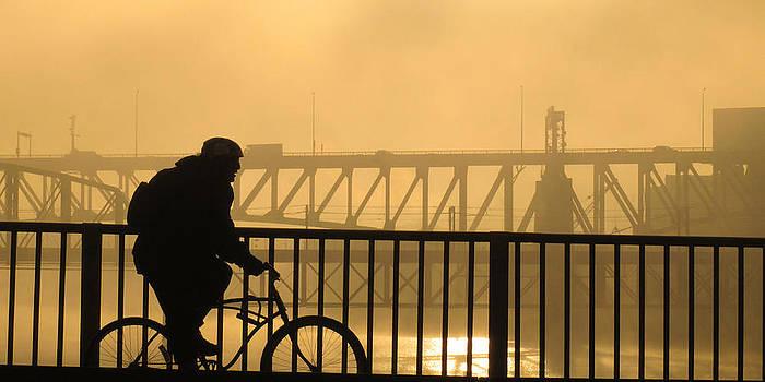 Biking the Bridges by Joe Winkler