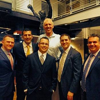 Bill Walton And The Guys by Michael Sitzman