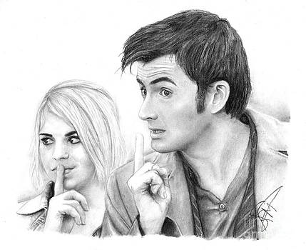 Billie Piper and David Tennant 2 by Rosalinda Markle