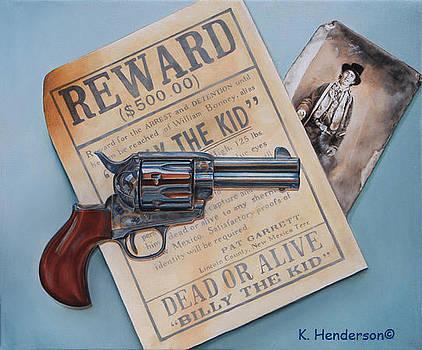Billy The Kid by K Henderson by K Henderson