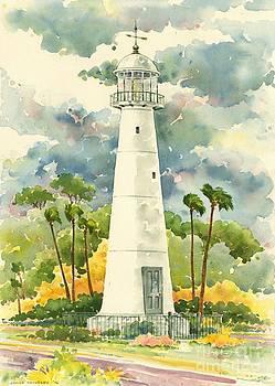 Biloxi Lighthouse by Joyce Hensley