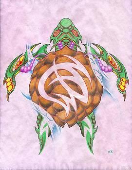 Bio-Organic Turtle by Rik Hayes