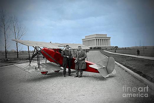 Jost Houk - Biplane at the Memorial