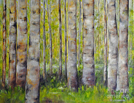 Carolyn Shireman - Birch Trees