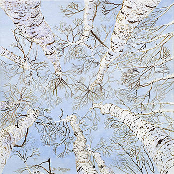 Birch Trees by Leo Gehrtz