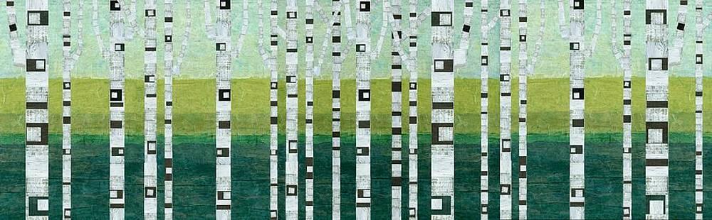 Michelle Calkins - Birches at the Beach