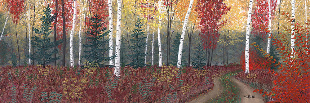 Birches by George Burr