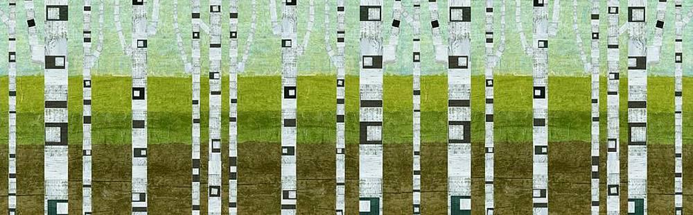 Michelle Calkins - Birches in Summer