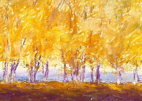Birches by William Beaupre