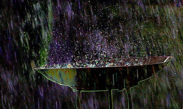 Bird Bath Explosion by David Yocum