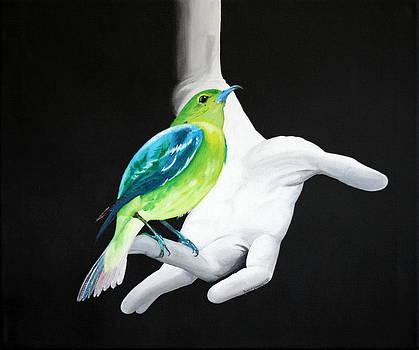 Bird Hand by Robert Crooker