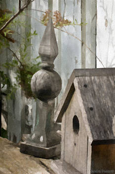 Sandra Foster - Bird House Garden Art