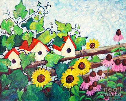 Peggy Johnson - Bird Houses
