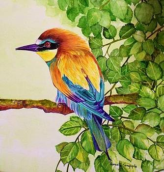 Bird in a Bush by Sonali Sengupta