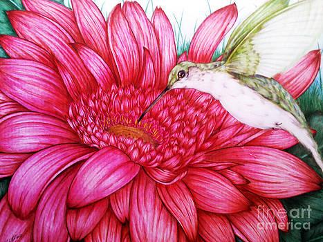 Bird in Bloom by Derrick Rathgeber
