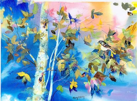Bird in Blue by Mary Haley-Rocks