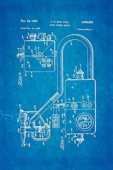 Ian Monk - Bird Respirator Patent Art 1962 Blueprint