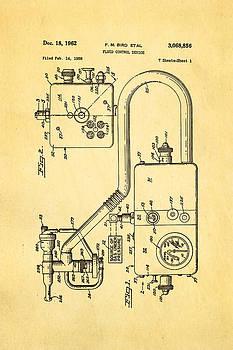 Ian Monk - Bird Respirator Patent Art 1962