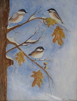 Bird sitters by Fran Haas